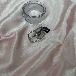 BRANDY MELVILLE- clear belt